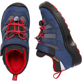 Keen Hikeport WP Scarpe Bambino, dress blues/firey red